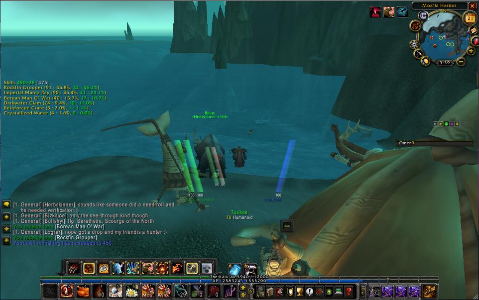 fishing in dalaran sewers glitch